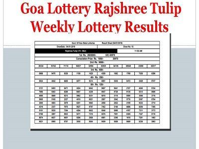 Rajshree lottery
