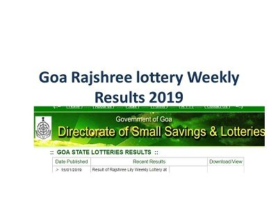 East Canton Village – All Of The Goa State Lottery Rajshree Tiger