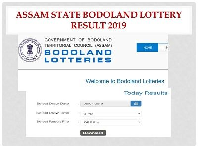 LIVE-Assam Bodoland Lottery Result 2019 Today 3 PM & 8 PM
