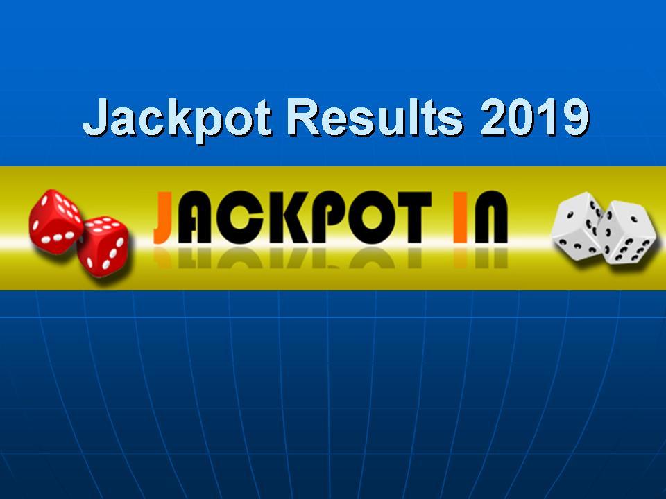 Jackpot Result