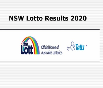 Nsw Sat Lotto Results