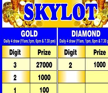 Diamond Lotto Result