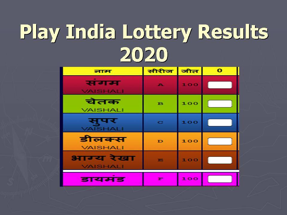 Lottery Result Online